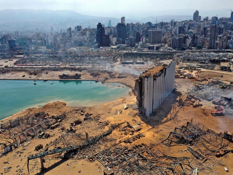 Ярим вайронага айланган Байрут тарихига назар (фоторепортаж)