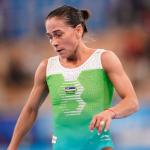 Oksana Chusovitina 8-Olimpiadasidagi yurishini to'xtatdi va sport bilan xayrlashdi