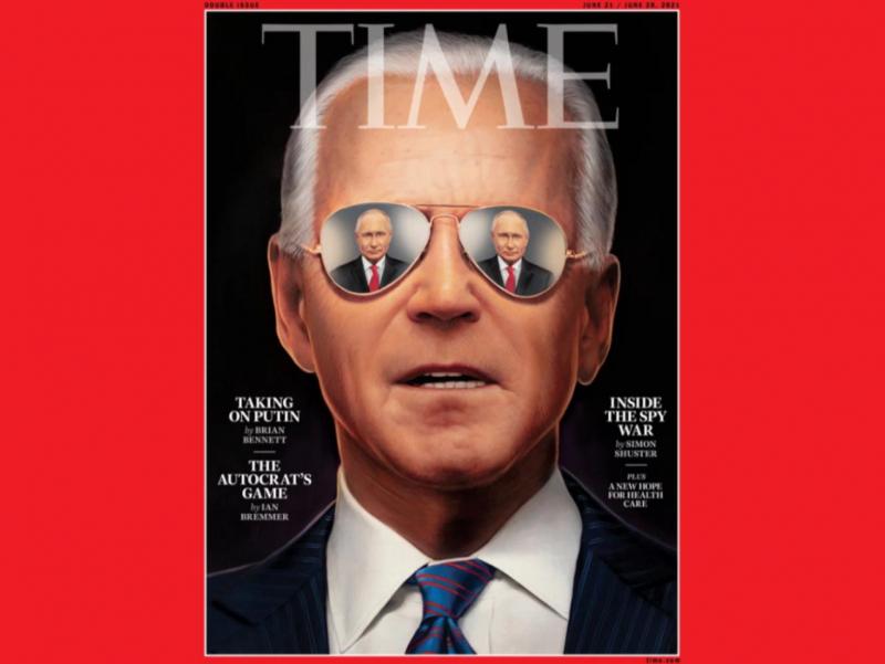 """Байденни Путин билан учрашувга АҚШ разведкаси тайёрлаган — """"Time"""""""