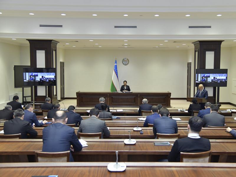 Сенатнинг ўн учинчи ялпи мажлиси 12 март куни чақирилади