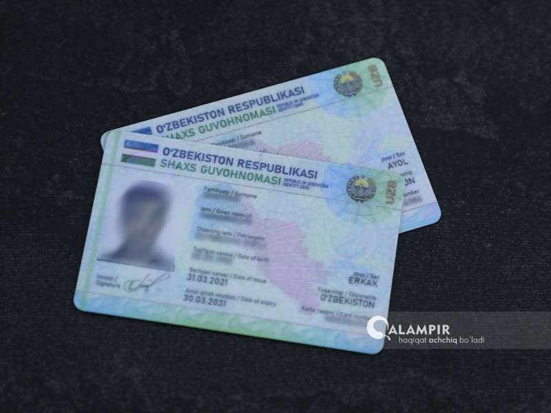 """Endi ID-kartasi bor haydovchilardan """"prava""""ni ko'rsatish talab etilmaydi"""
