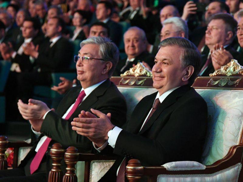 To'qayev Mirziyoyevni tabriklab, Afg'onistondagi vaziyatni ham muhokama qildi