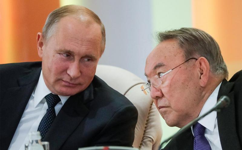 """Путин Назарбоевнинг таклифига """"силлиққина"""" йўқ деди"""