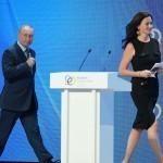 Путин америкалик журналист аёлга хушомад қилди