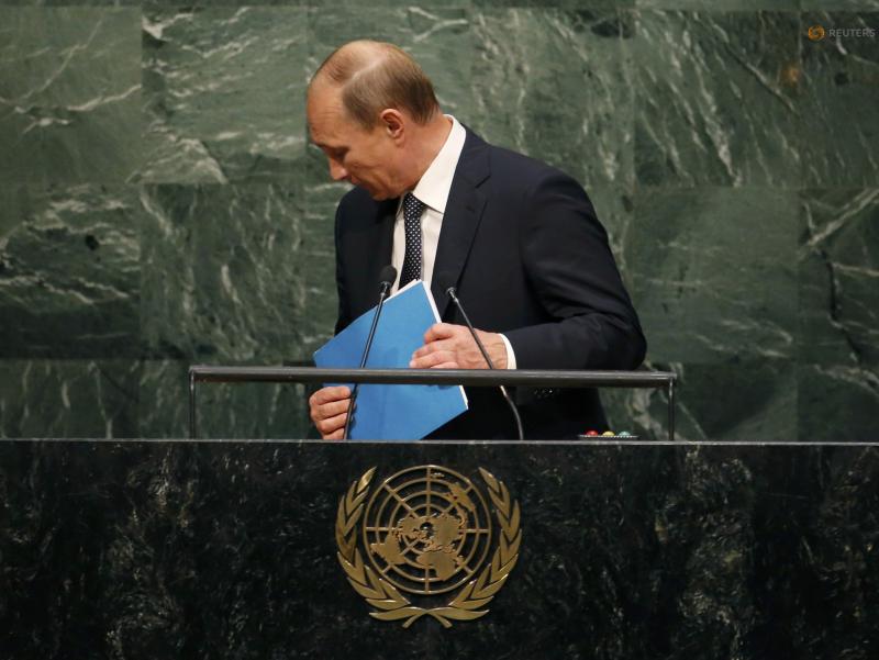 Тенги йўқ қуролларга эга Путин БМТ минбаридан дунёни қуролсизланишга чақирди
