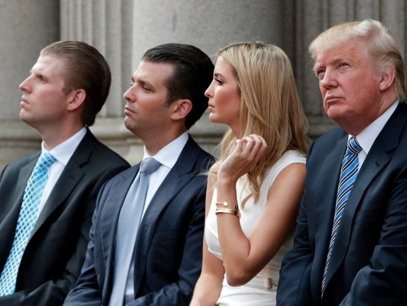 Трамп ва унинг фарзандлари қамалиши мумкин