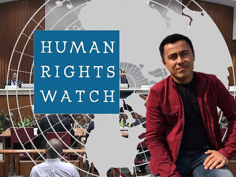 Блогер Сатторийнинг қамалиши Ўзбекистонда сўз эркинлигига зарбадир – HRW